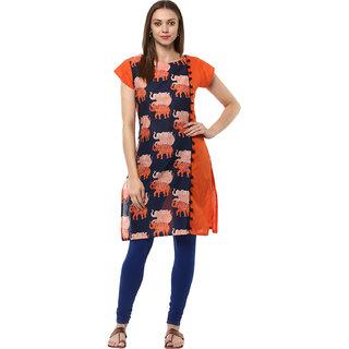 Ziyaa Casual Wear Multicoloured Kurta