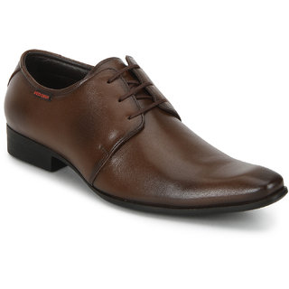 Red Chief MenS Tan Formal Leather Shoe Rc3532 006