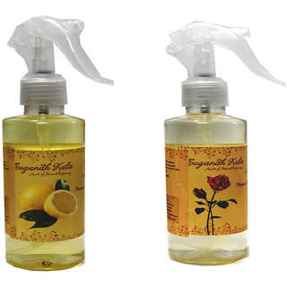Sugandhkala lemon  rose Room Freshener