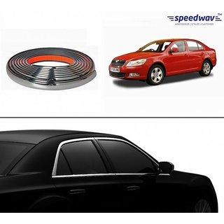 Speedwav Side Window 10 meter Chrome Beading Roll-Skoda Laura