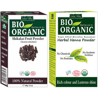 Buy Natural Herbal Henna Powder And Shikakai Powder For Best Hair