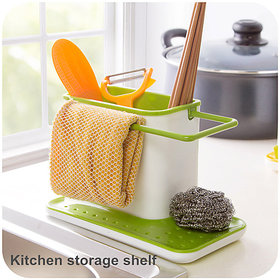 3in1 Kitchen Shelf Cleaning Stand Holder - 3IN1KST