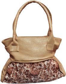 Foax Fashion Ladies Hand-Held Bag (Cream Tiger Print )