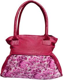 Foax Fashion Ladies Hand-Held Bag ( Pink Tiger Print )