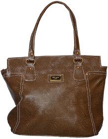 Foax Fashion Ladies Hand-Held Bag(Tan)