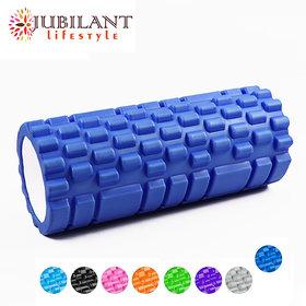 Jubilant Lifestyle Foam Roller Fitness/ Yoga/ Gym/ Pilates,  Multicolour 33 cm