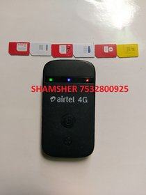 ZTE AIRTEL 4G MF90LTE 150 Mbps 3G 4G WIFI WIRELESS POCKET ROUTER Support All sim Like Jio Voda etc. only GSM sims View