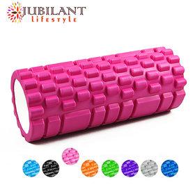 Jubilant Lifestyle Foam Roller Fitness/ Yoga/ Gym/ Pilates, Multicolor 45 cm