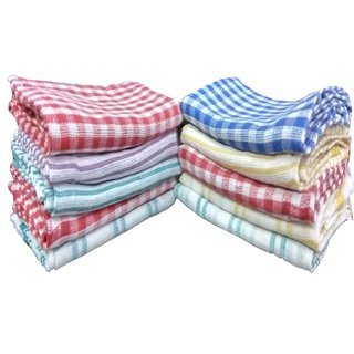 Angel Home Set of 10 Cotton Kitchen Towels