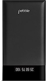 Pebble PB33 6000mAh Polymer Power Bank (Black)