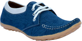 Anapple Men's Sky Blue  Lace-up Outdoors Shoes