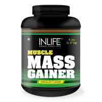 INLIFE   Gainer Protein Powder 5 lbs, Chocolate Flavor, Muscle  Weight Gain