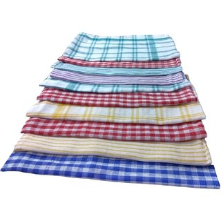XY DECOR Set of 10 Cotton Kitchen Towels
