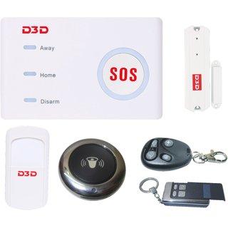 D3D Wi-Fi /GSM Security Alarm System Smart Home Automation DIY Kit iOS/Android Mobile App Control Burglar alarm.