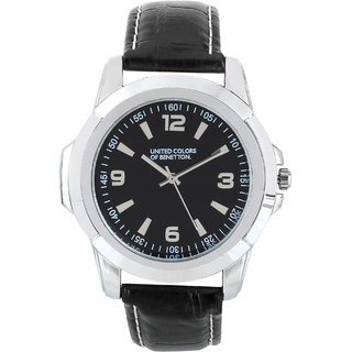 Buy benetton black dial analog watch online get 82 off for Benetton watches
