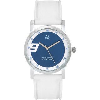 Benetton white dial silicon strap analog watch buy benetton white dial silicon strap analog for Benetton watches