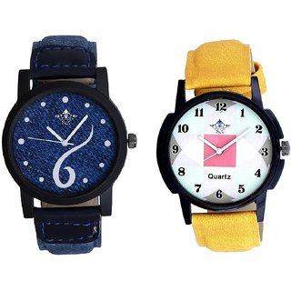 Sports Sixth Art Design And Luxury Square Design SCK Analogue Combo Watch