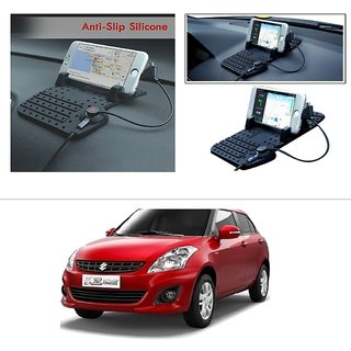 AutoStark Car Mobile Holder Pad with Charger Car Cradle with Fast Charging For Maruti Suzuki Swift Dzire (New)