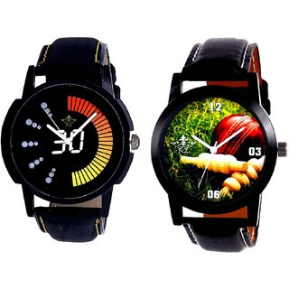 Cricket Super Design And Attractive Race Dial Analog SCK Combo Watch -For Men