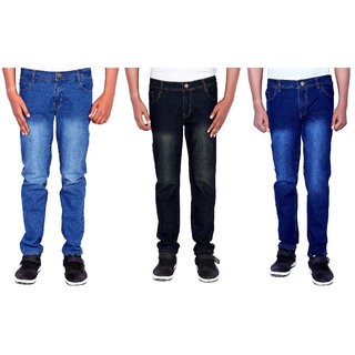 Indicul Desi Dude Men Jeans (Combo Of 3)