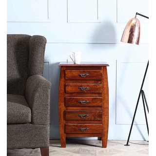 Wood Mania - Padua chest of 5 drawer