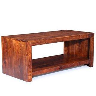 Wood Mania - Pescara coffee table with one shelf