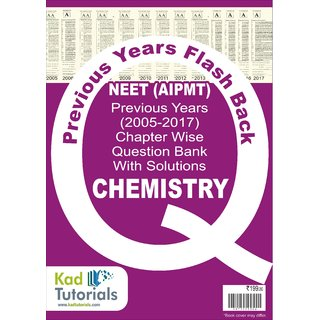 NEET (AIPMT) Question Bank with Solutions Chemistry