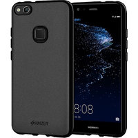 Amzer Pudding TPU Case - Black For Huawei P10 Lite