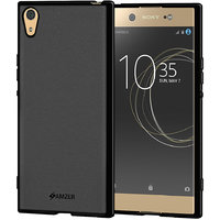 Amzer Pudding TPU Case - Black For Sony Xperia XA1 Ultra