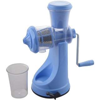 Meet High Quality Fruit and Vegetable Juicer Blue
