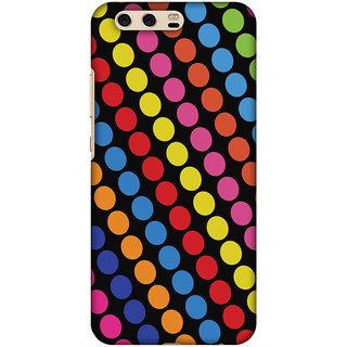 Amzer Designer Case - Funky Dot Stripes For Huawei P10