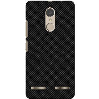 Amzer Designer Case - Carbon Black With Texture For Lenovo K6