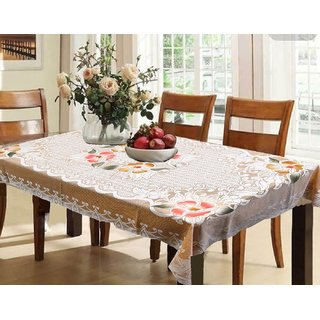 Designer Table Cloth | Buy Vivek Homesaaz Designer Dining Table Cover Net Fabric 60x90