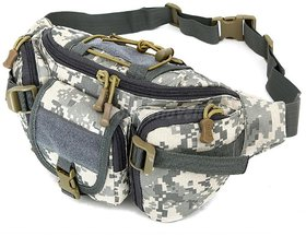 Aeoss Outdoor Unisex Waist Bag Tactical Military Waist Pack Chest Bag Pouch Waist Pack With Water Bottle Pocket Holder