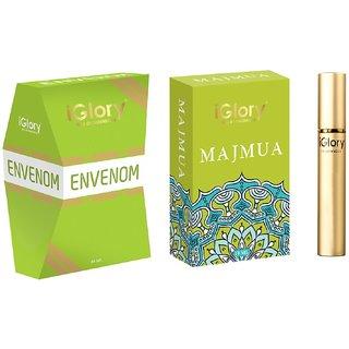 BEST ARABIC PERFUMES, LONG LASTING ATTARS FOR MEN  WOMEN, ALCOHOL FREE  MAJMUA  ENVENON - 20ML