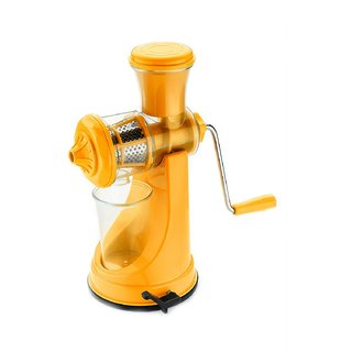 Meet High Quality Fruit and Vegetable Juicer Yellow