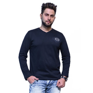 Branded Black Full Sleeve Casual T-Shirt for Boy's and Men's