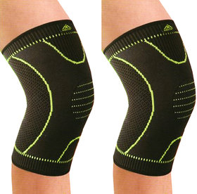 Jubilant Lifestyle Adjustable Protective Knee Cap For Knee Pain Relief/ Stabilise Workout For Man And Women(Pack of 2 )