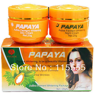 PAPAYA  DAY+NIGHT WHITENING  SPOT-REMOVING CREAM