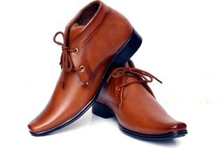 Aadi Tan Synthetic Formal Derby Shoes for Men