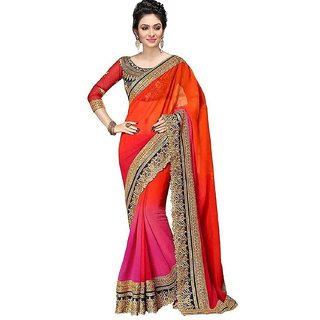 Buy Women Party Wear Latest Design New Collection Georgette Sarees