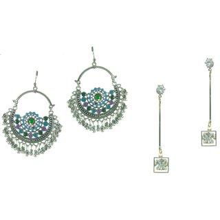 Aarsh Traditional Gold Alloy Jhumki Earrings For Women and girl