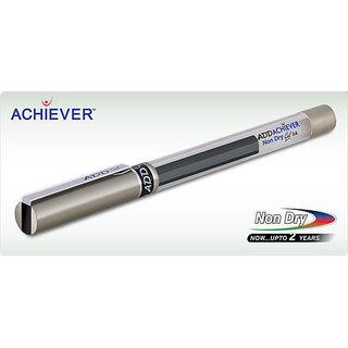 Add Gel Achiever Pen Black ( Set Of 10)