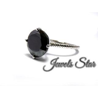 black moissanite diamond sterling silver fine new wedding engagement ring
