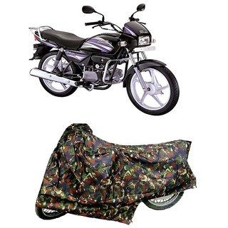 De AutoCare Premium Quality Junglee Matty Two Wheeler Bike Body Cover For Hero Splendor Pro
