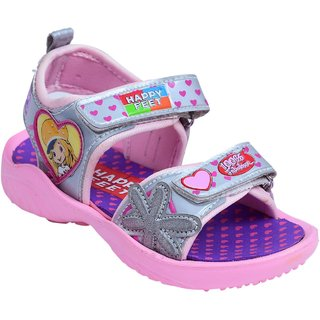 cd54024b4bf Buy Happy Feet Pink Colour Comfortable Sandals For Girls Online   ₹299 from  ShopClues