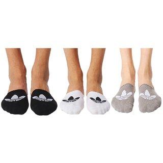 Adidas Originals Unisex Footie Socks - Pack of 3