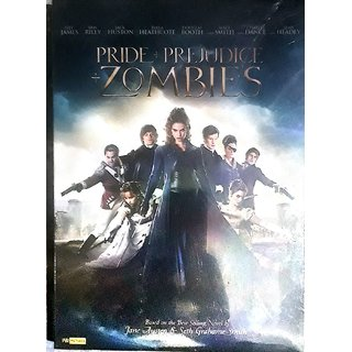 PRIDE + PREJUDICE + ZOMBIES DVD VIDEO BASED ON BEST SELLING NOVEL BY JANE AUSTEN SETH GRAHAME SMITH