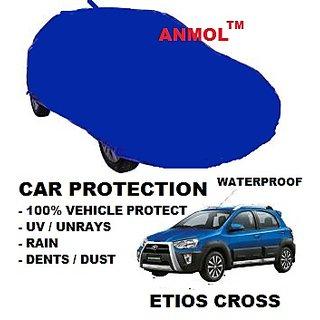 Anmol waterproof high quality car body cover - ETIOS CROSS