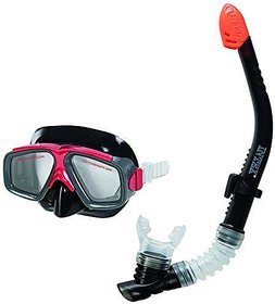 Intex Reef Rider Snorkel Mask Set Diving Equipments for 8+ Adults #55949 Black
